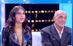 Maria Laura e Paolo Brosio a Live Non è la d'Urso contro Diego