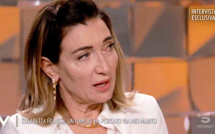 Elisabetta Franchi racconta il suo dramma a Verissimo: dalla povertà da bambina alla morte del marito