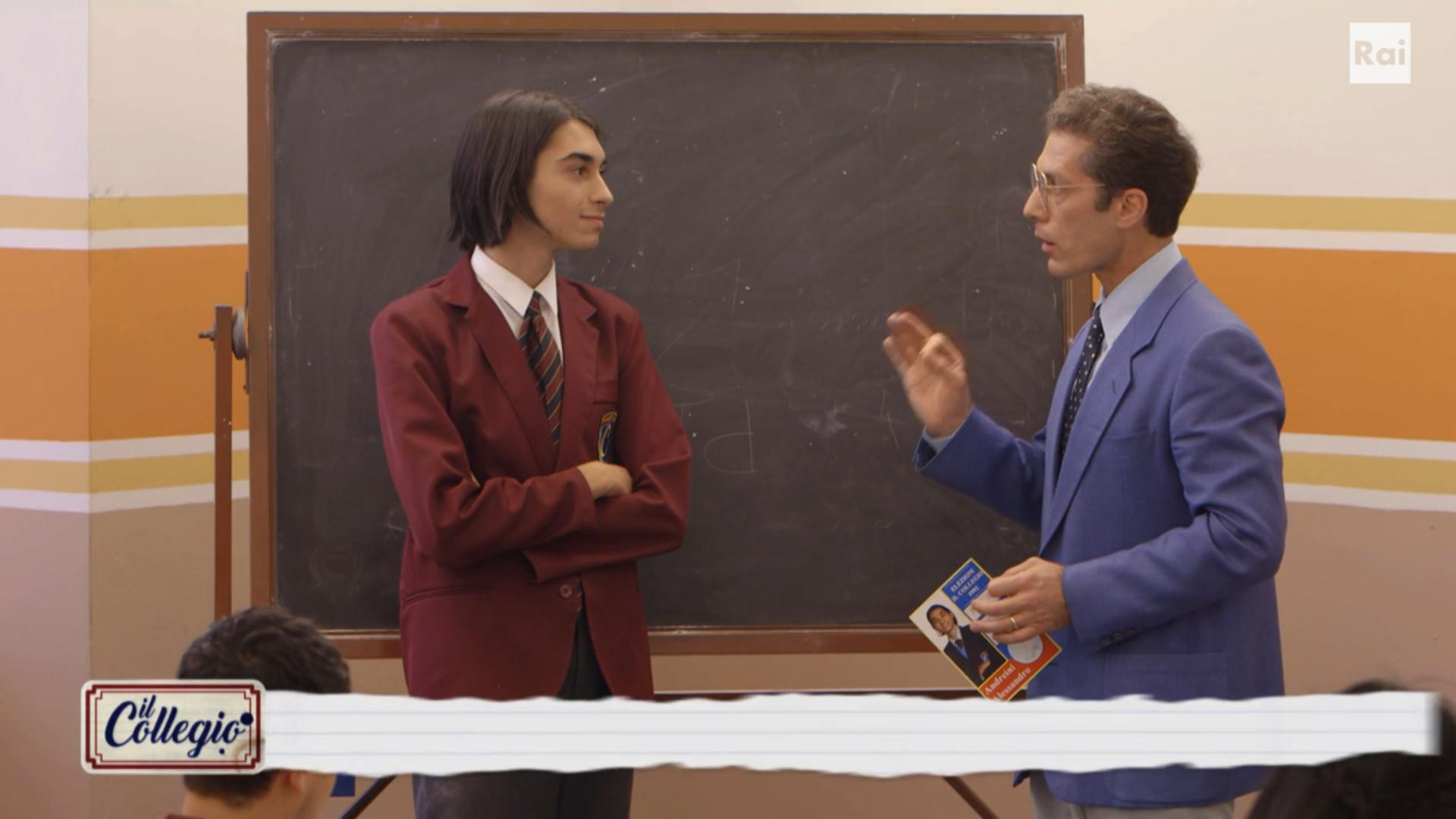 Il Collegio, Andreini dà del 'pervertito' a un prof e viene espulso. E non è stato l'unico a essere cacciato