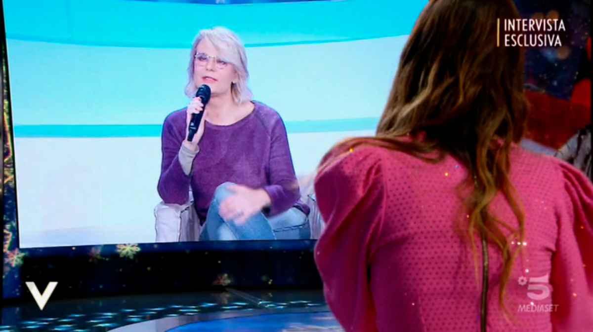 Maria De Filippi parla a Verissimo e Silvia Toffanin si commuove: «Scelta forte»