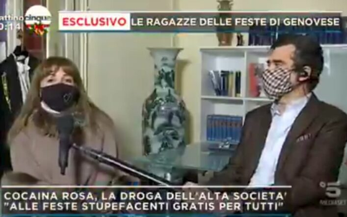 La fidanzata di Alberto Genovese sotto inchiesta, le ultime novità del caso a Mattino 5