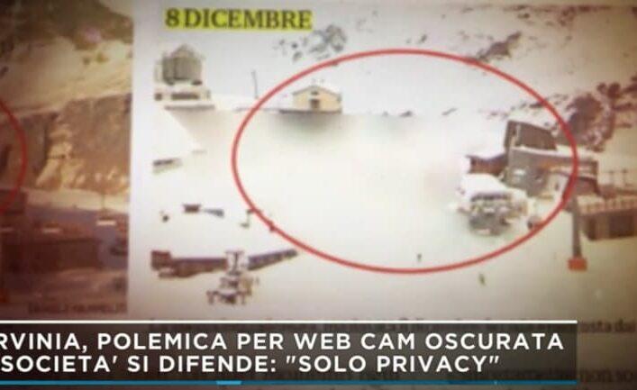 """Mattino 5, il caso della webcam oscurata a Cervinia: """"I furbetti della neve"""""""