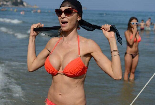Cecilia Capriotti e il ritocco al seno