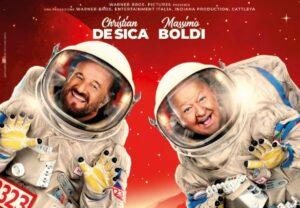 In Vacanza su Marte, la locandina del nuovo Cinepanettone