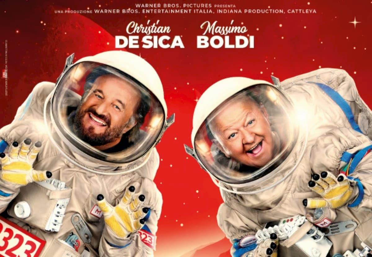In Vacanza su Marte, il Cinepanettone di Christian De Sica e Massimo Boldi sarà disponibile in streaming