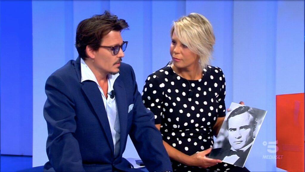 Johnny Depp ospite a C'è Posta per Te