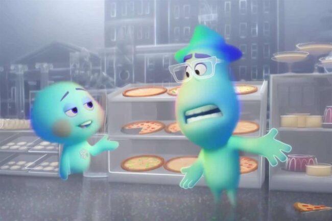 Una scena tratta dal film Soul in onda su Disney+