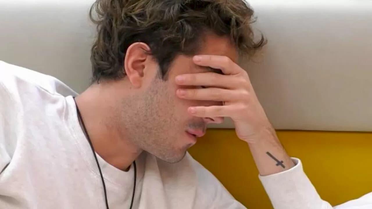 """Tommaso Zorzi va in crisi e fa le valigie: """"Voglio abbandonare il GF Vip 5"""" (VIDEO)"""