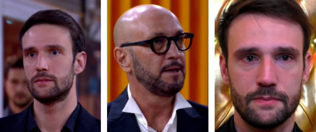 Gf Vip, Andrea Zenga in lacrime dopo il confronto tv con il padre Walter (Video)