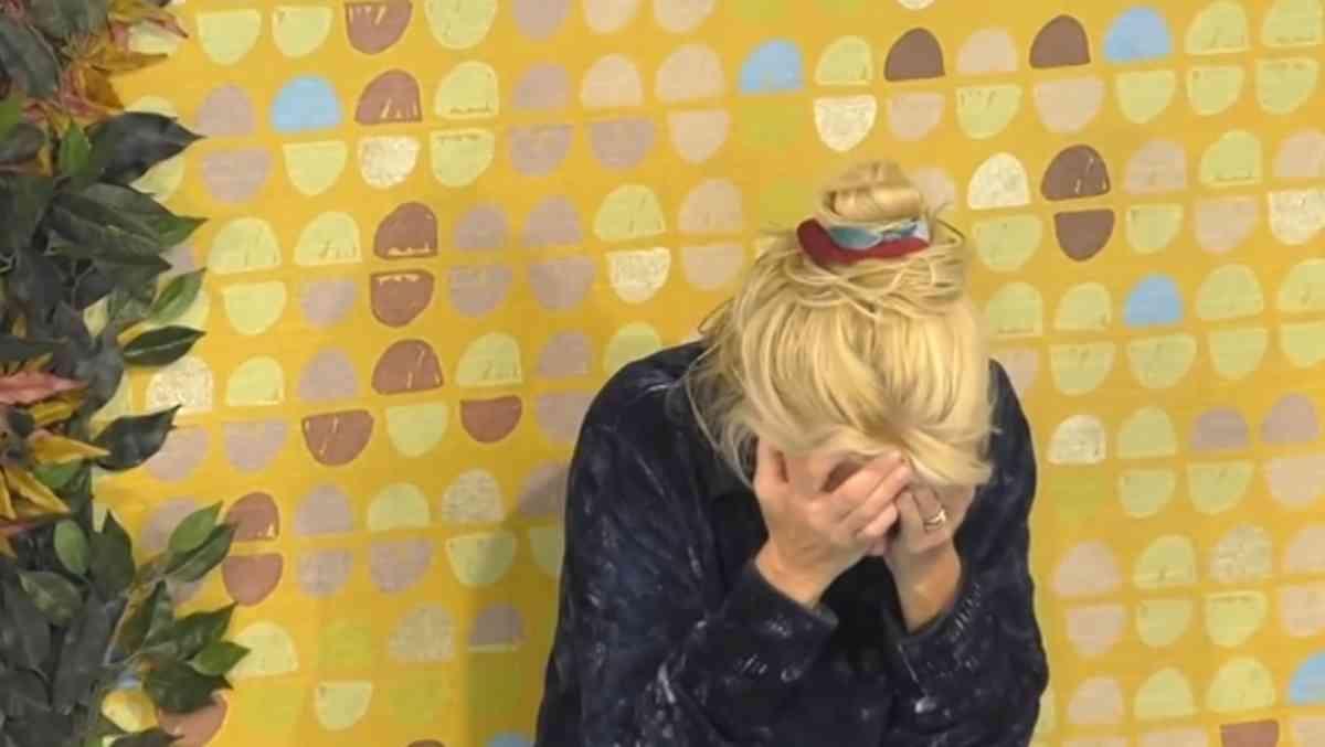 Maria Teresa Ruta piange al Gf Vip