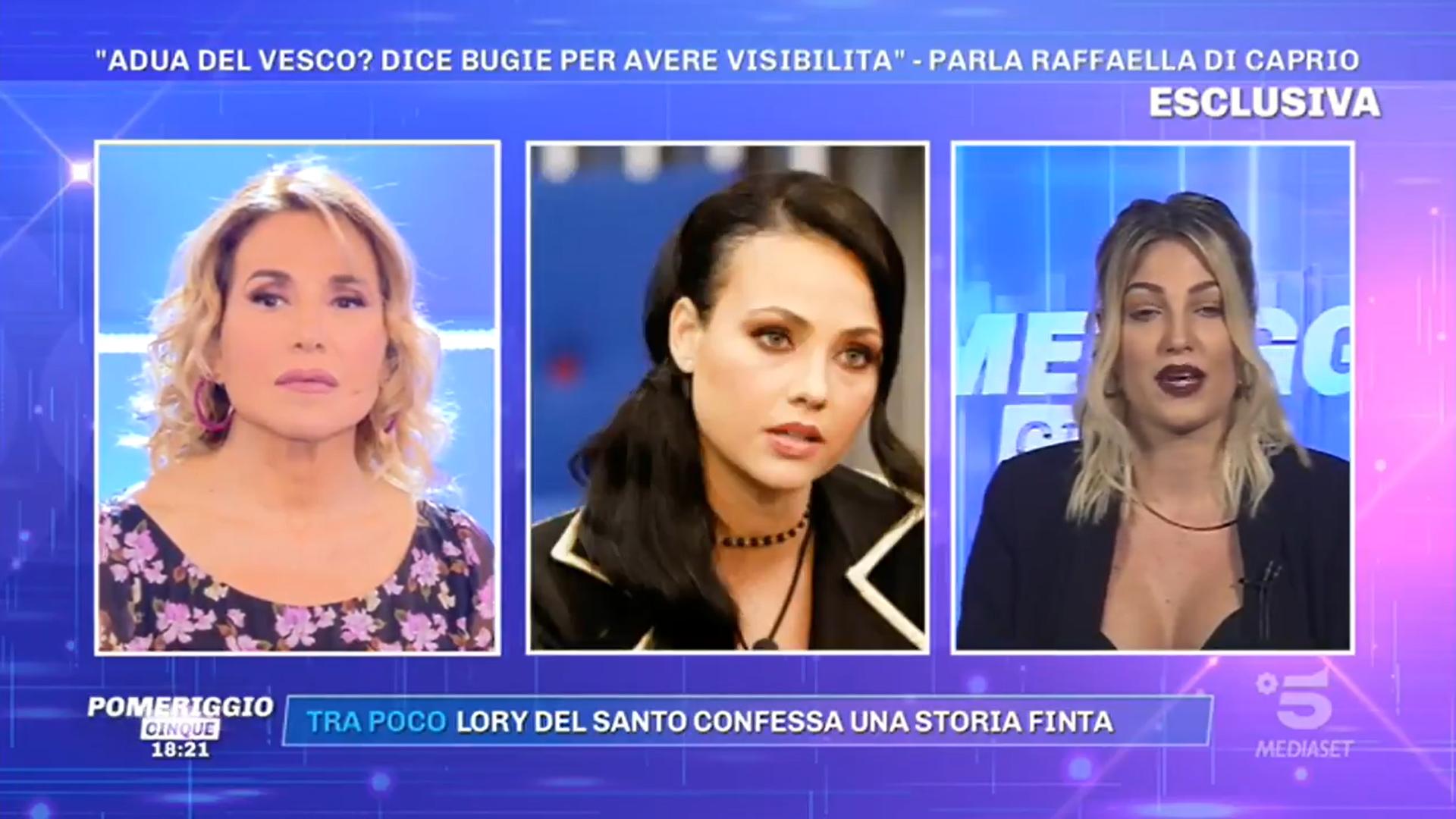 """Pomeriggio 5, Raffaella Di Caprio: """"Storie di Adua finte per farla emergere"""""""