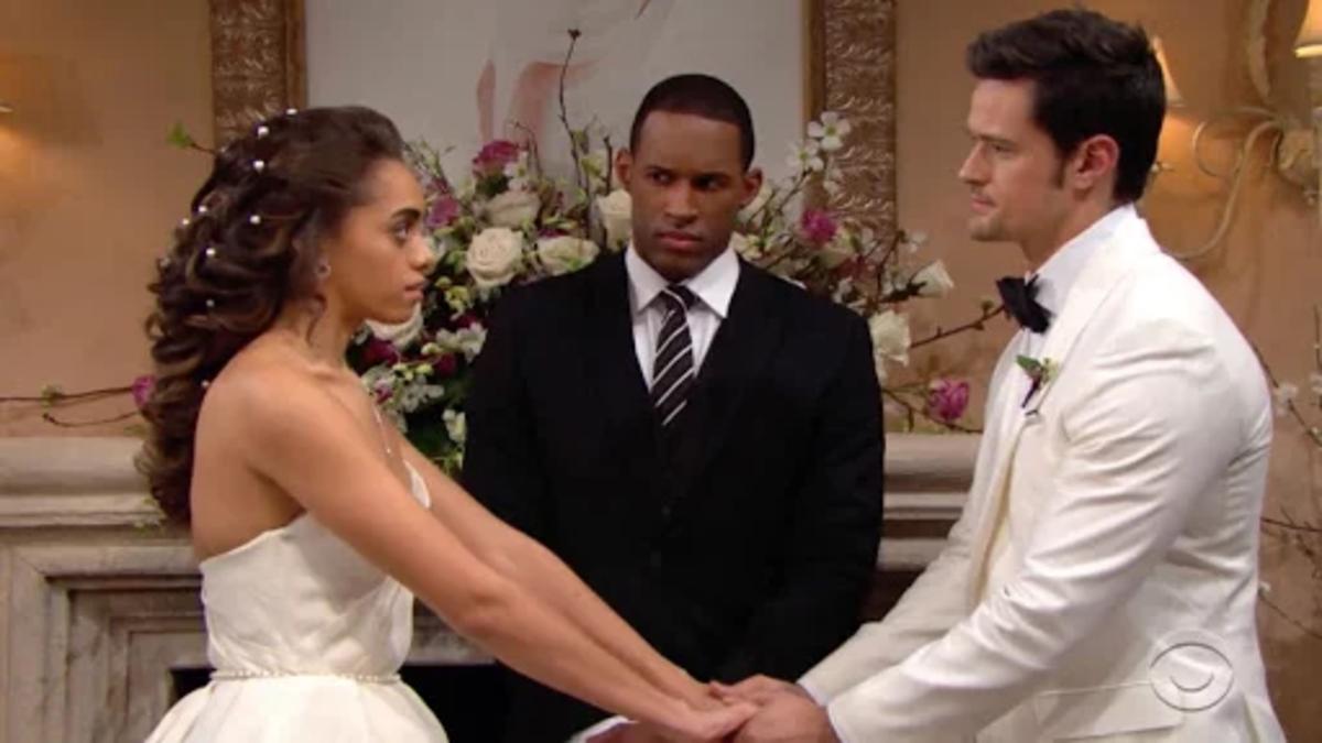 Beautiful, anticipazioni Usa: Zoe schiaffeggia Thomas sull'altare!