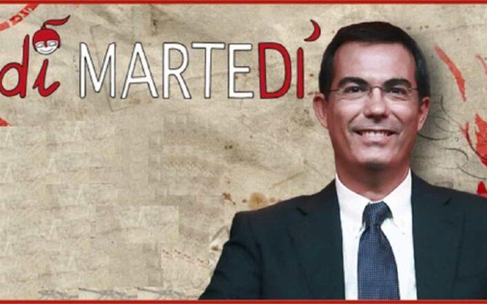 Gli ospiti a DiMartedì di oggi 26 gennaio: si parte con Salvini