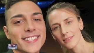 Mattia e Silvia, coppia de La pupa e il secchione