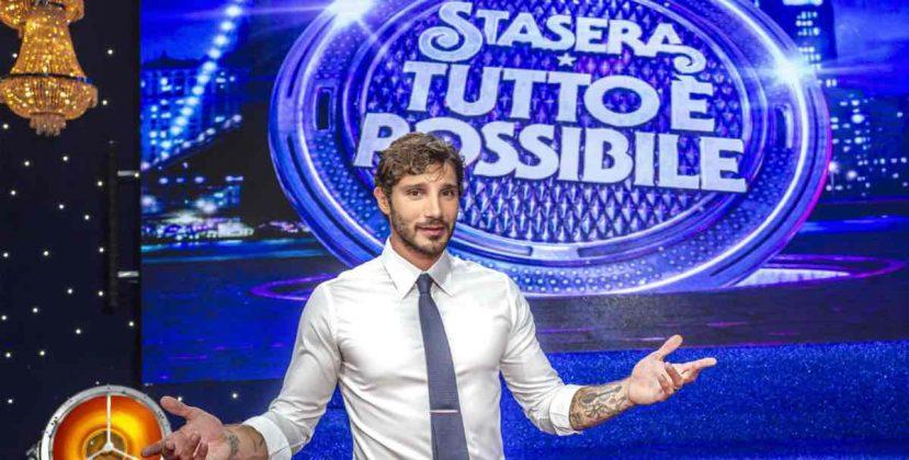 Stasera tutto è possibile, data di inizio, ospiti prima puntata e le parole di Stefano De Martino