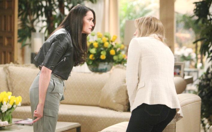 Beautiful, anticipazioni Usa: Brooke e Quinn vengono alle mani!