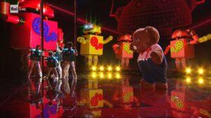 Orsetto eliminato nella finale de Il Cantante Mascherato 2021: chi c'era dietro la maschera