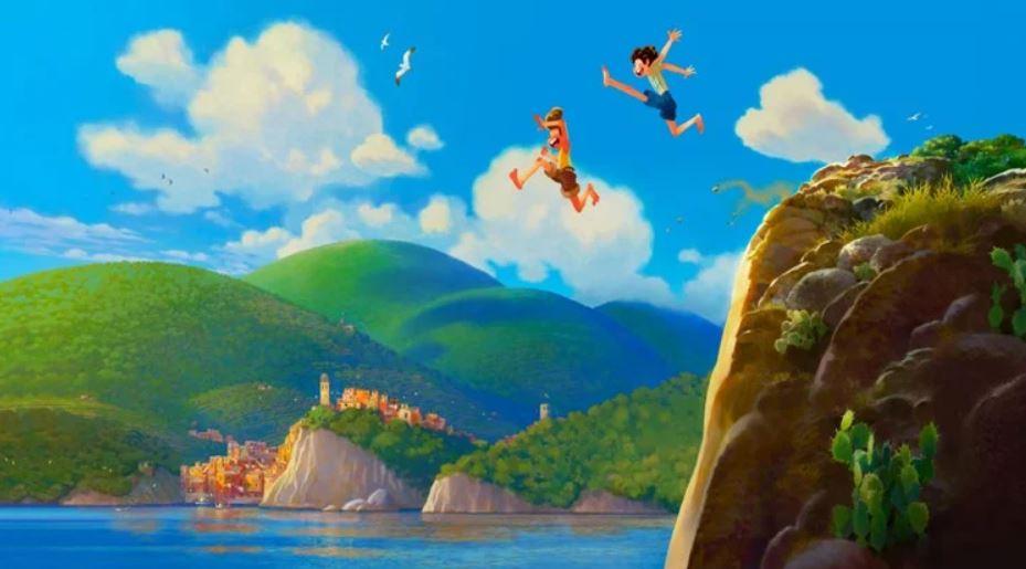 Luca: il nuovo film Disney-Pixar ambientato in Liguria, tra pesto, focaccia e gelati.
