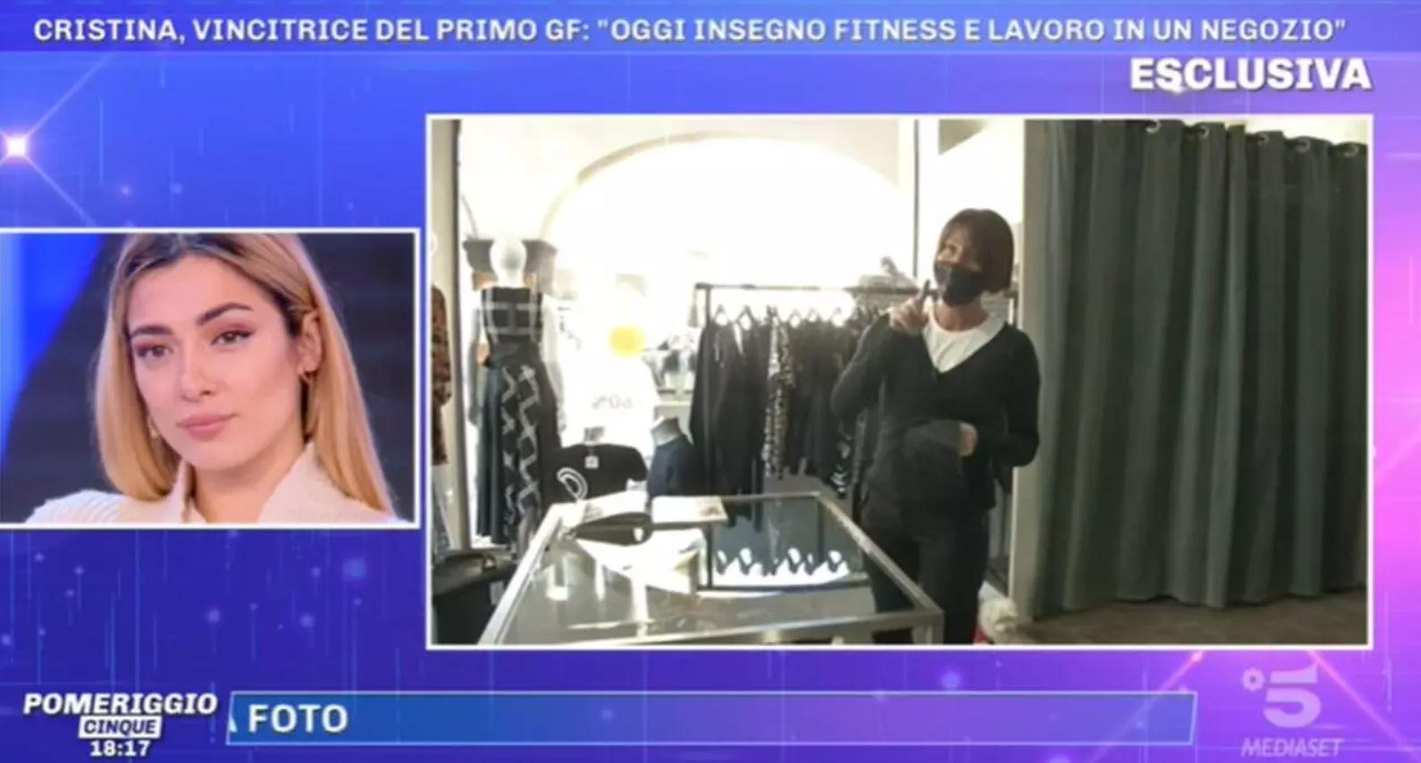 Pomeriggio 5: Cristina Plevani, prima vincitrice del GF, ecco che fine ha fatto