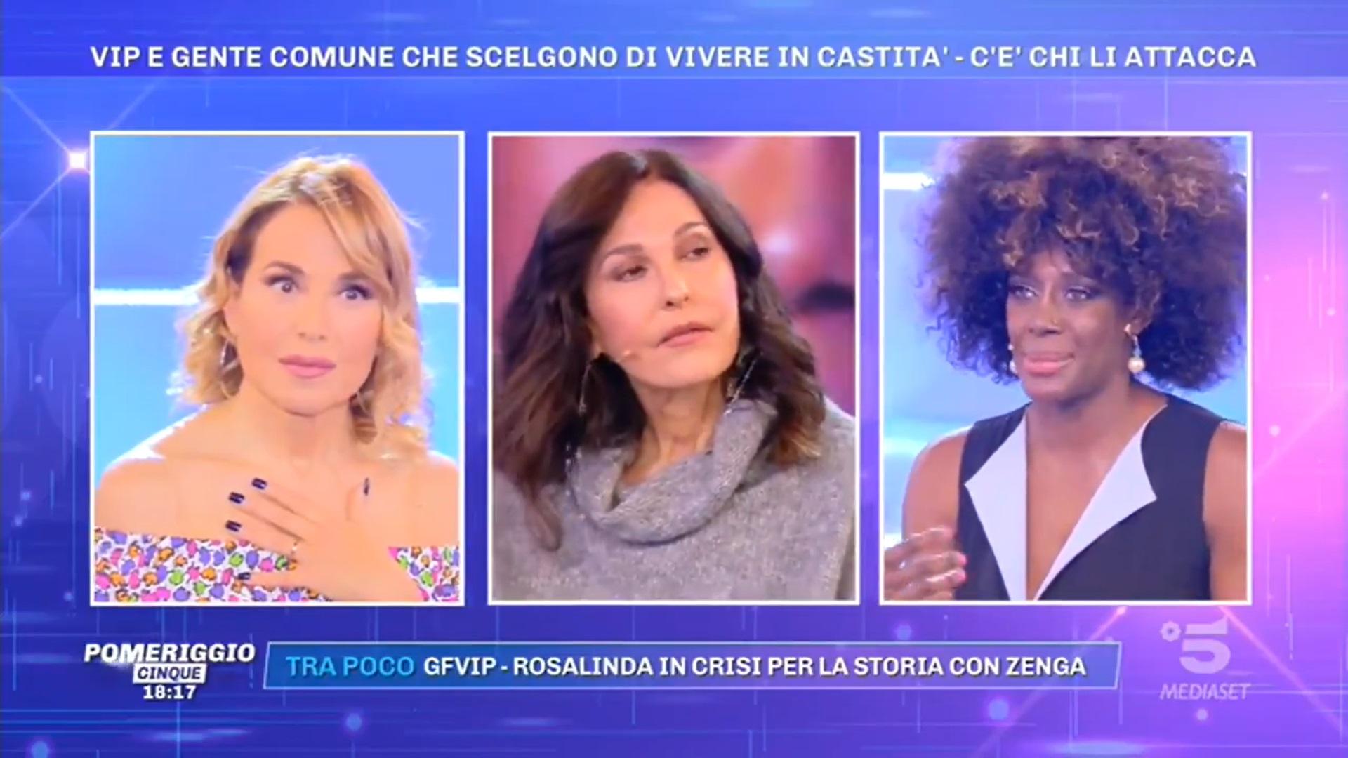 Sylvie Lubamba racconta alcuni aneddoti della vita in carcere con Patrizia Reggiani e Pina Auriemma