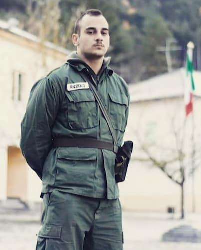 Matteo Rizzolo concorrente de La Caserma