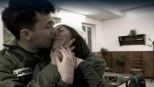 Il bacio tra William LaPresa ed Elena Santoro
