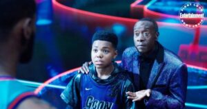 Figlio Lebron James in Space Jam 2 A New Legacy