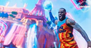 Space Jam 2 LeBron James in una immagine inedita del film