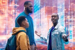 Dom e LeBron James in Space Jam A Nwe Legacy