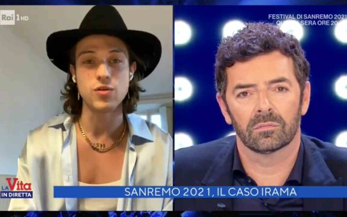 Sanremo 2021, ecco come Irama potrebbe cantare nella terza serata delle cover