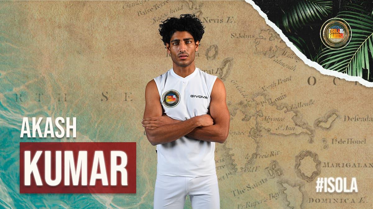Isola dei Famosi 2021, l'avventura di Akash Kumar potrebbe terminare stasera