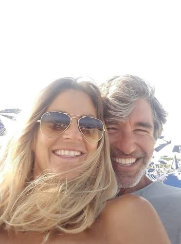 Brando Giorgi e la moglie