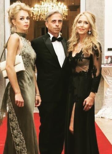 Drusilla Gucci insieme ai genitori