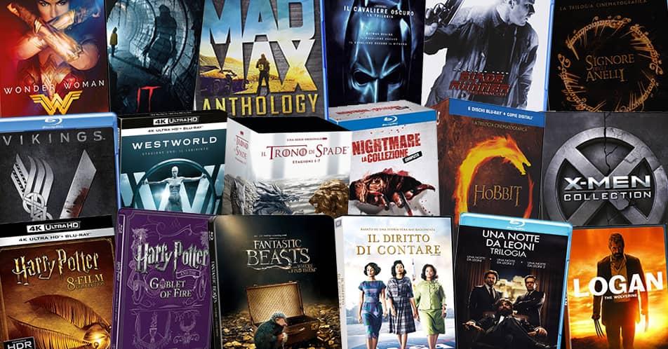 Tanti film, serie TV e cofanetti in promozione su Amazon con le Offerte di Primavera