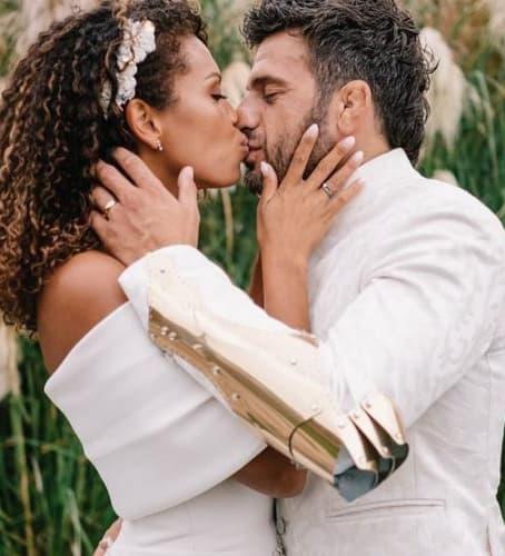Marco Maddaloni e la moglie Romina