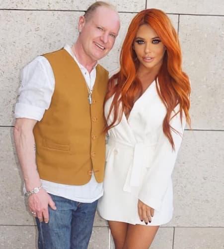 Paul Gascoigne insieme alla figlia Bianca