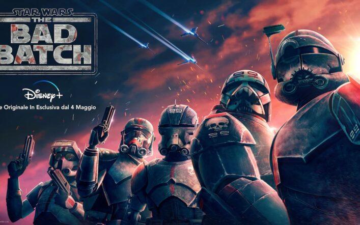 Star Wars: The Bad Batch, la nuova serie animata in esclusiva su Disney+