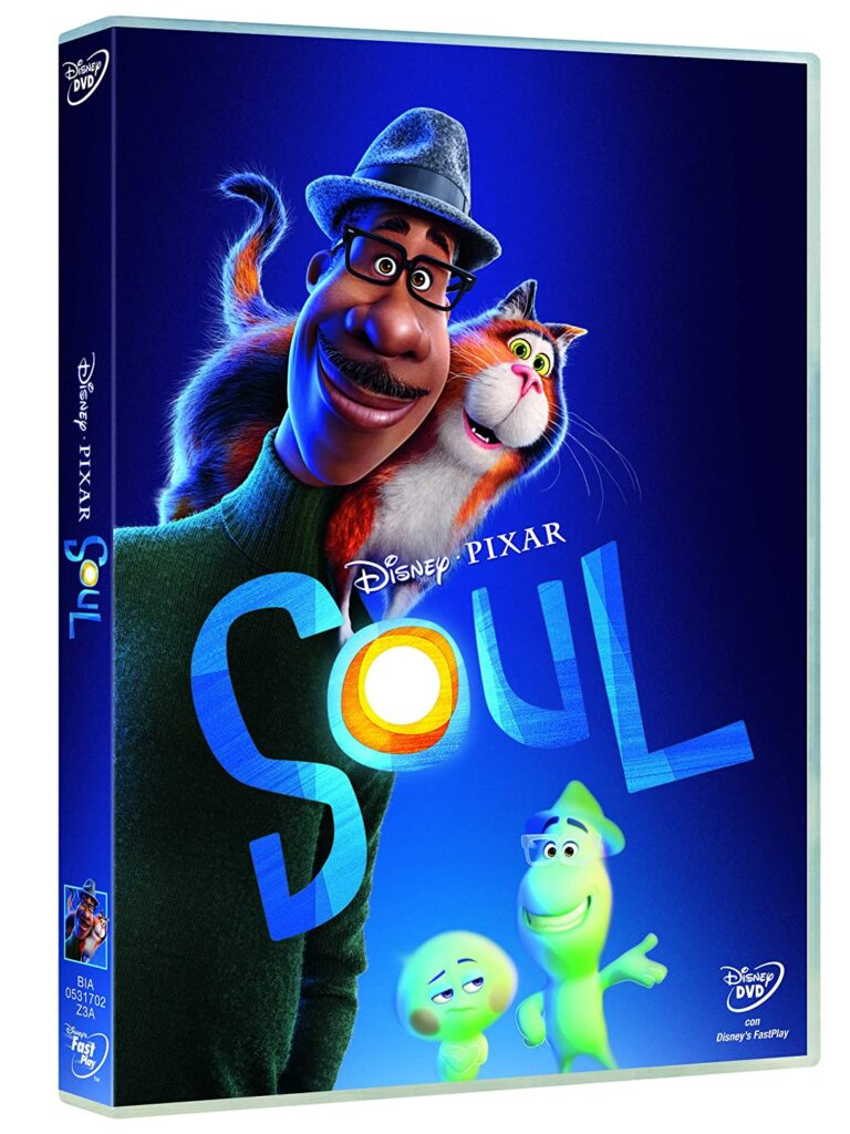 DVD Soul, film d'animazione Disney