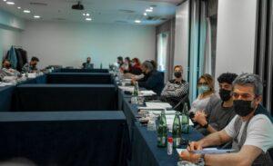 La conferenza stampa di presentazione del cast della serie TV Le fate ignoranti