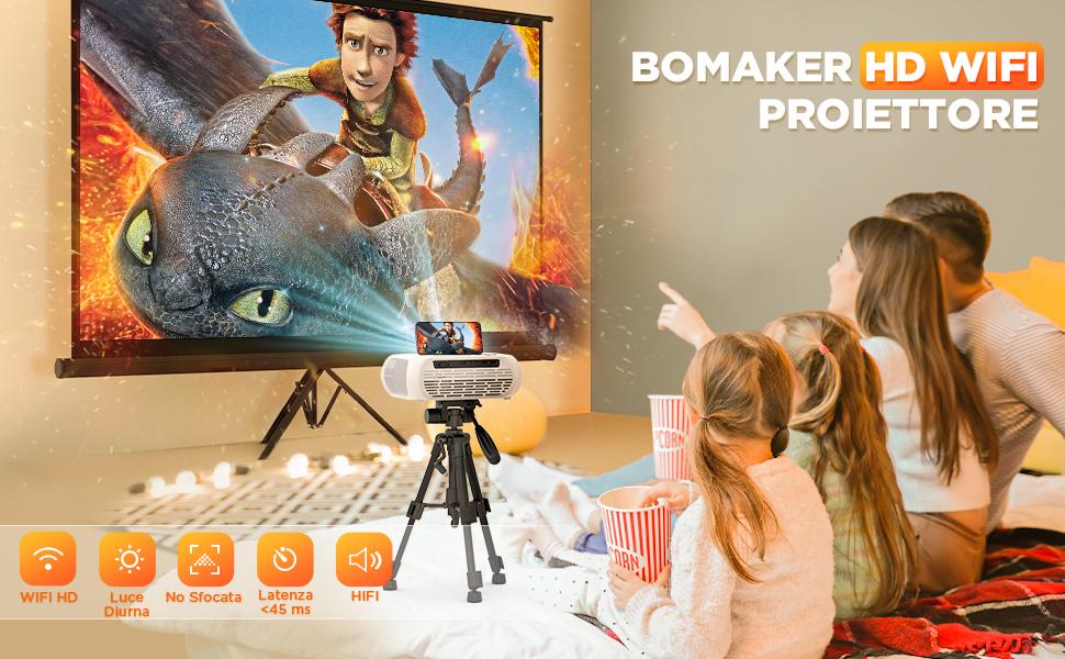 Videoproiettore Bomaker
