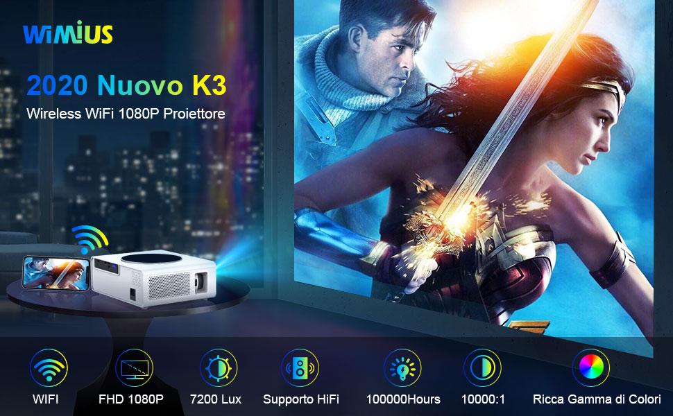 Videoproiettore WiMIUS