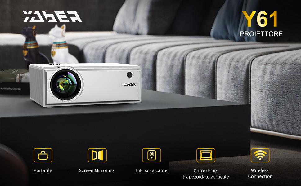 Videoproiettore Yaber
