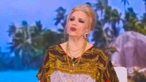 Iva Zanicchi ha lasciato lo studio in diretta nella puntata dell'Isola dei Famosi del 7 maggio