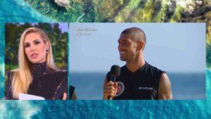 Andrea Cerioli e Ignazio Moser polemici con Ilary Blasi dopo la prova ricompensa all'Isola dei Famosi