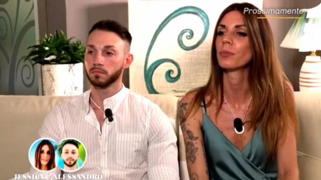 Jessica e Alessandro, coppia di Temptation Island 2021