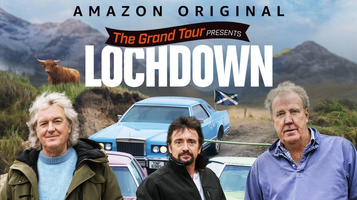 The Grand Tour presents: Lochdown, è disponibile su Amazon Prime Video