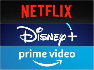 Novità netflix DisneyPlus Prime Video